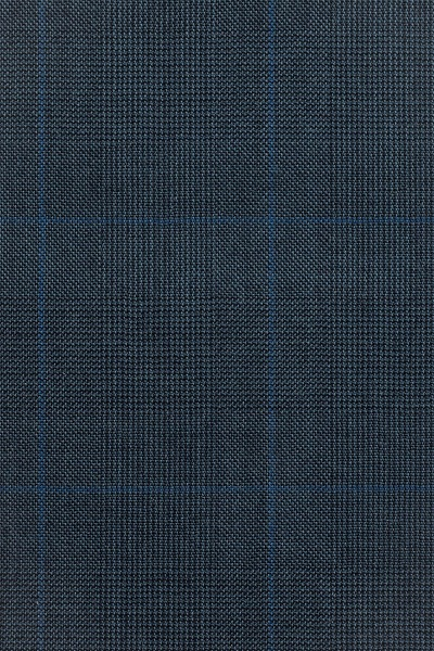 Blue Prince of Wales Check with Light Blue Overcheck