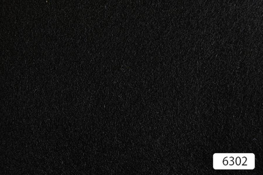 Plain Black Wool & Cashmere