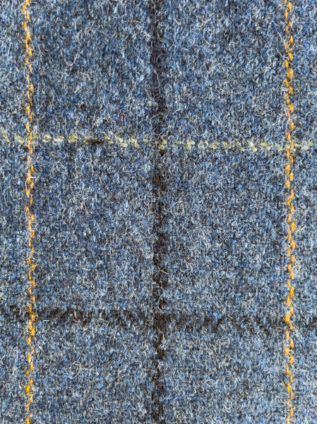 Mixture Blue with Tattersall Check